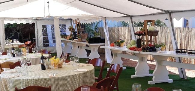אוהל לאירוע עד 100 מוזמנים